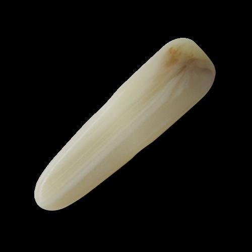 Hellbeige Knebelknöpfe