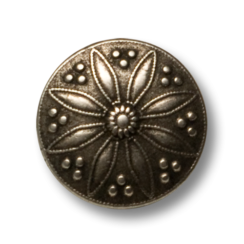 www.knopfparadies.de - Trachtenknöpfe mit Blütenmotiv
