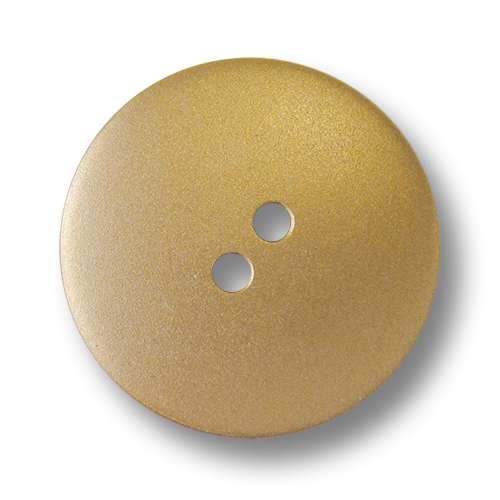 www.Knopfparadies.de - 4011go - Schöne leichte goldene Kunststoffknöpfe in Metalloptik