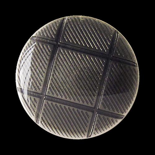 www.knopfparadies.de - 1617sg - Blazerknöpfe mit grafischem Muster