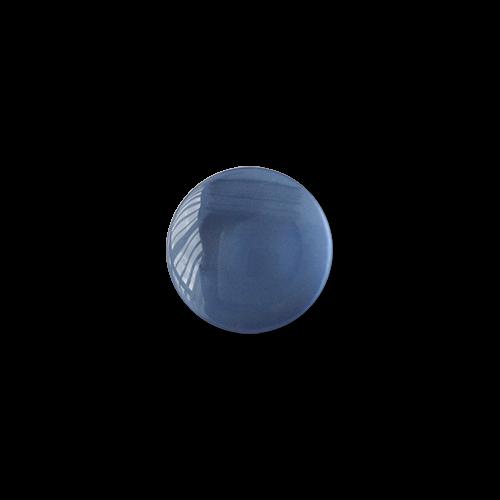 www.knopfparadies.de - 5476bl - Hübsche taubenblaue Blusenknöpfe oder Kinderknöpfe