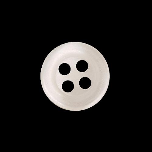 Schöner weißer Hemdenknopf