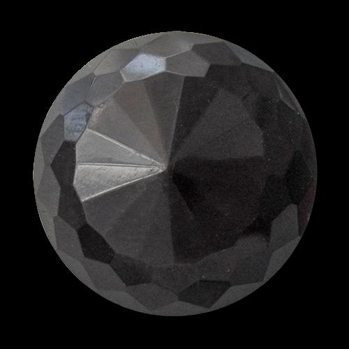 www.knopfparadies.de - 1691sc - Kunststoffknöpfe, fast wie alte Glasknöpfe