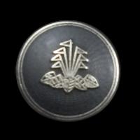 Silber-graue Wappenknöpfe