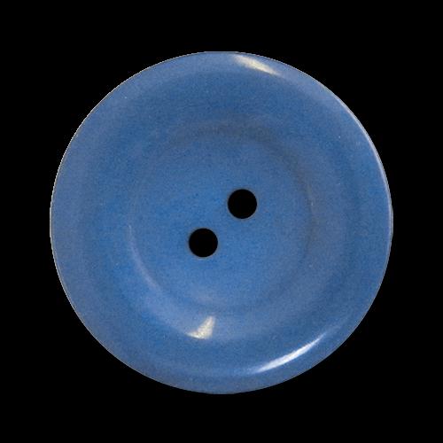 www.knopfparadies.de - 2691kb - Blaue Mantelknöpfe aus Kunststoff