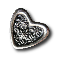 Schöne Trachten-Herz-Knöpfe