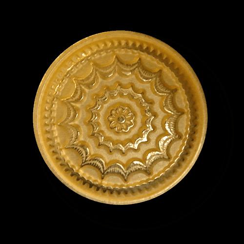 Schöne goldfarbene Metallknöpfe