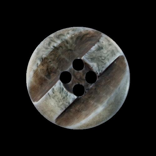 10er-Set graue Knöpfe im Natur-Ethno-Stil