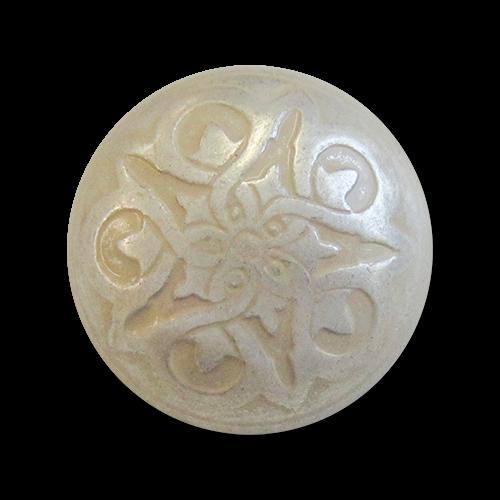 www.knopfparadies.de - 5968ws - Silber gekalkte Trachtenknöpfe aus Metallblech
