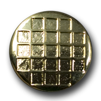 Edler goldfarbener Metallknopf