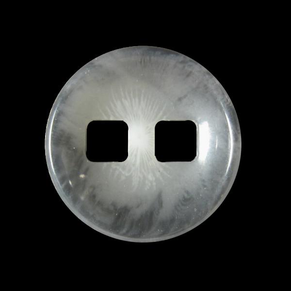 Interessante grau melierte Mantelknöpfe