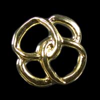 Ausgefallene goldfarbene leichte Knöpfe