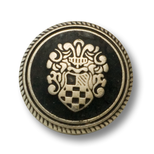 Blazerknöpfe mit Wappenmotiv