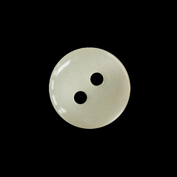 Robuster tablettenförmiger Zweiloch Blusen Knopf