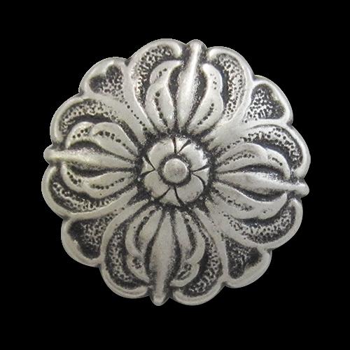 Zauberhafte, plastisch gestaltete Metallknöpfe im Barock Stil