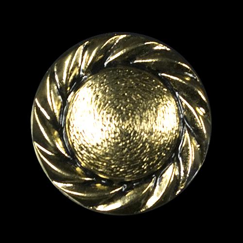 Altgoldfarbene Metallknöpfe