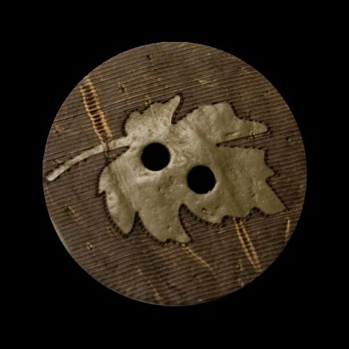 Toller Naturknopf aus Kokosnuss (1277ol)