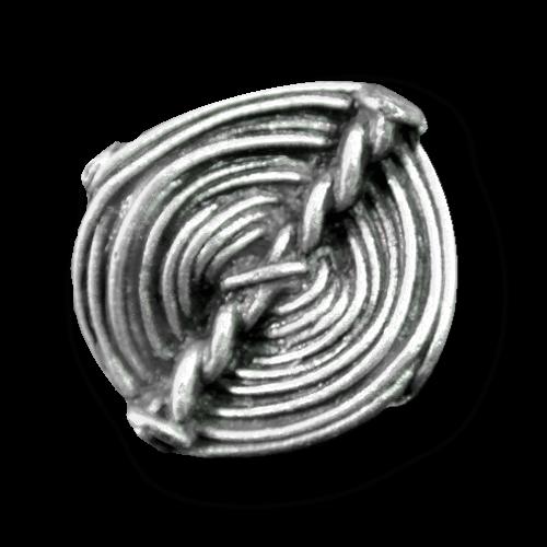 Alt wirkender Metall Knopf wie aus dem Mittelalter