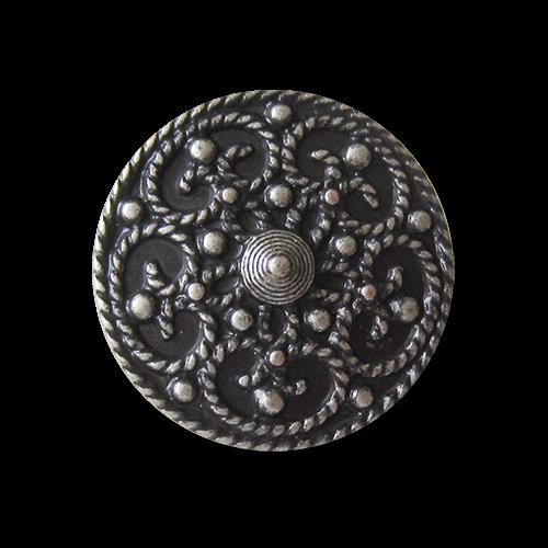 www.knopfparadies.de - 1329as - Trachtenknöpfe mit filigranem Muster - oder Knöpfe für historische Kostüme