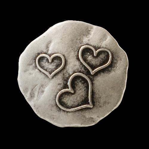 Wahnsinnig hübsche Herzknöpfe im Vintagelook