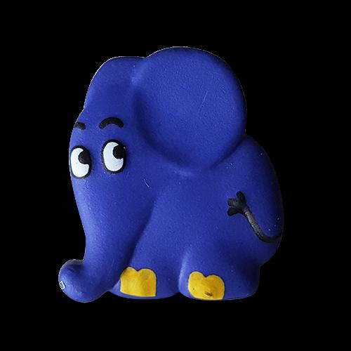 kinderknopf mit elefant aus der sendung mit der maus. Black Bedroom Furniture Sets. Home Design Ideas