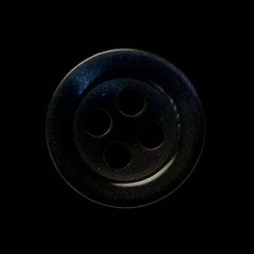 Hübsche dunkelblau schimmernde Blusenknöpfe