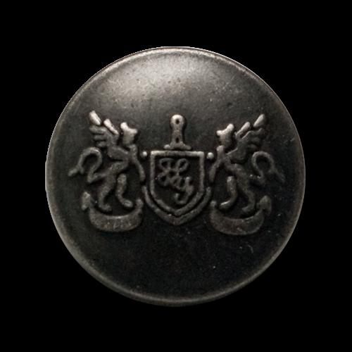 Blazerknöpfe aus Metall mit edelm Motiv