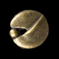 Knopf in ausgefallener Form