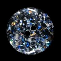 Magische Glitzerknöpfe aus Kunststoff
