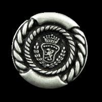 Wappenknöpfe aus Metall