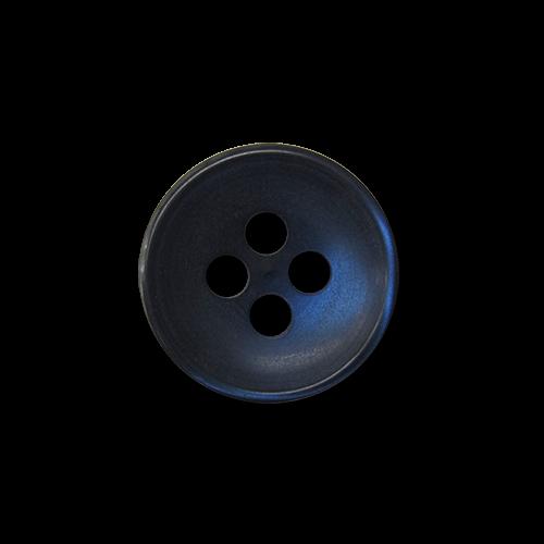 Kleine blaue Vierloch Blusen- oder Hemdknöpfe aus Kunststoff