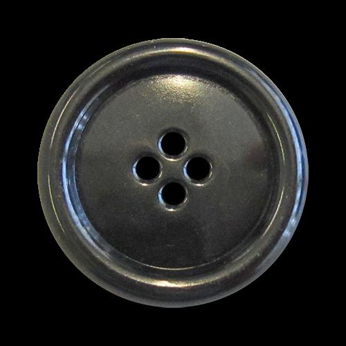 www.Knopfparadies.de - 5962ch - Leichte Metallknöpfe in glänzend Chrom