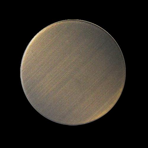 www.knopfparadies. de  - 3611ei - Metallblechknöpfe mit fein strukturierter Oberfläche