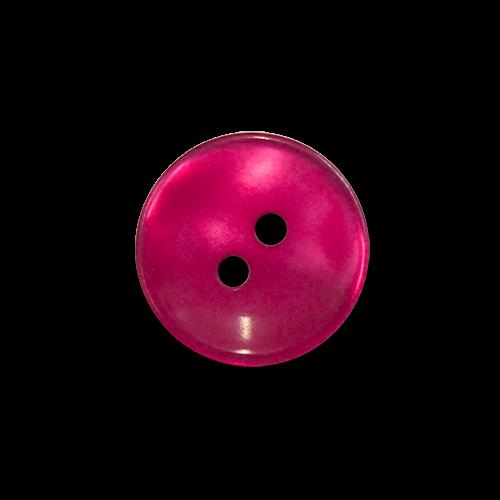 www.Knopfparadies.de - 5961pi - Kleine Zweilochknöpfe aus Kunststoff in Pink