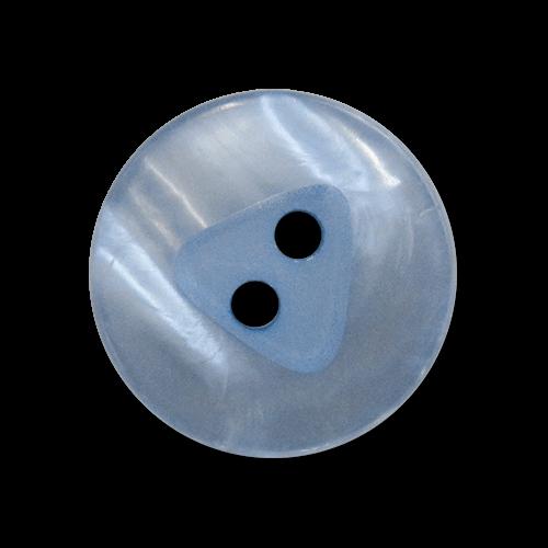 www.knopfparadies.de - 5845mb - Hübsch schimmernde Kunststoffknöpfe mit zwei Löchern