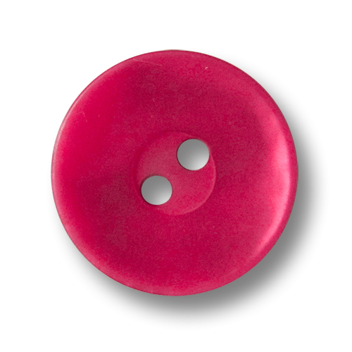 www.knopfparadies.de - 3564hi - Pinke Kunststoffknöpfe in Perlmuttoptik