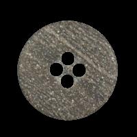 Braune Knöpfe mit rauher Oberfläche