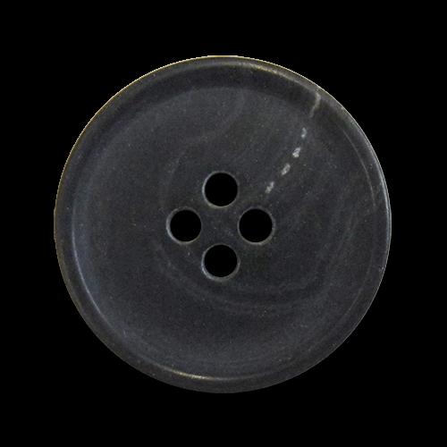 www.knopfparadies.de - 5389sc - Vierlochknöpfe aus Kunststoff mit Kontrastrand