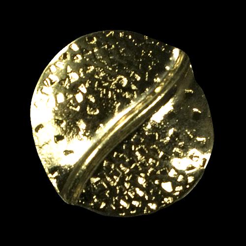 Futuristische Metallknöpfe