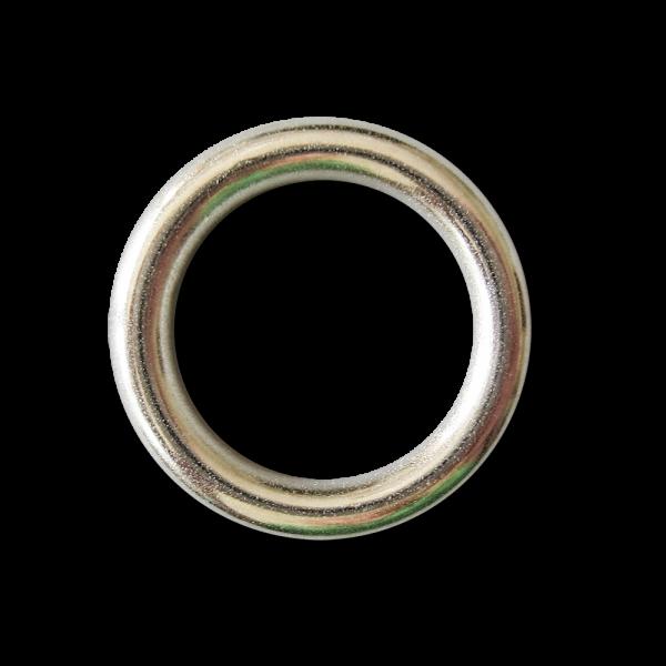 Silberfarbener Metall Ring für Schmuck, Deko & Basteln