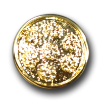Goldfarbene Metallknöpfe