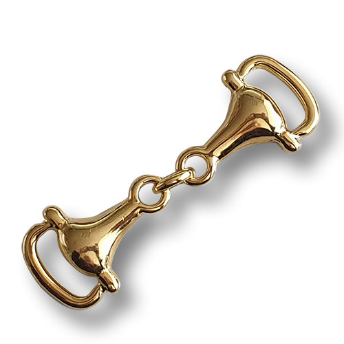 www.knopfparadies.de - 2413go - Goldfarbene Trense - Zier-Accessoire