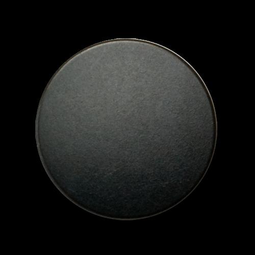 Klassische schwarze Metallblechknöpfe