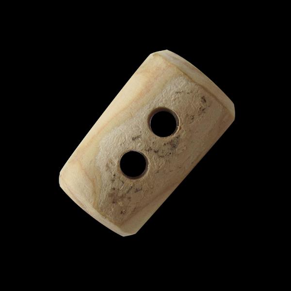 Uriger kurzer Holz Knebel Knopf aus Ast gesägt