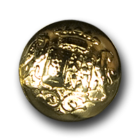 Glänzend goldfb. schöne Wappenknöpfe