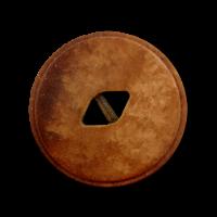 10er-Set terracotta melierte Knöpfe
