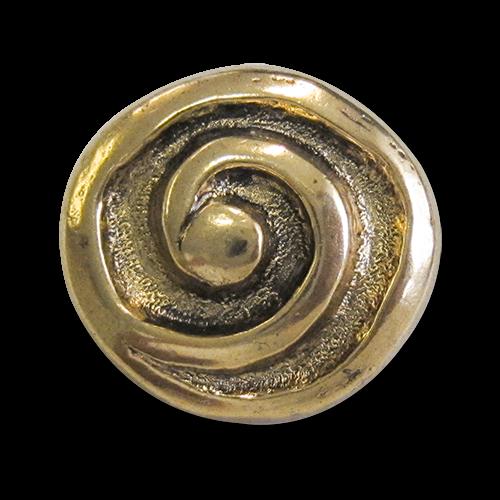 Metallknöpfe mit Spirale