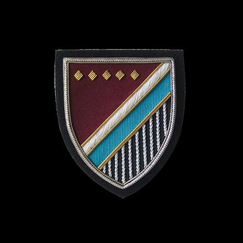 Wunderschöner bestickter Wappen Aufnäher