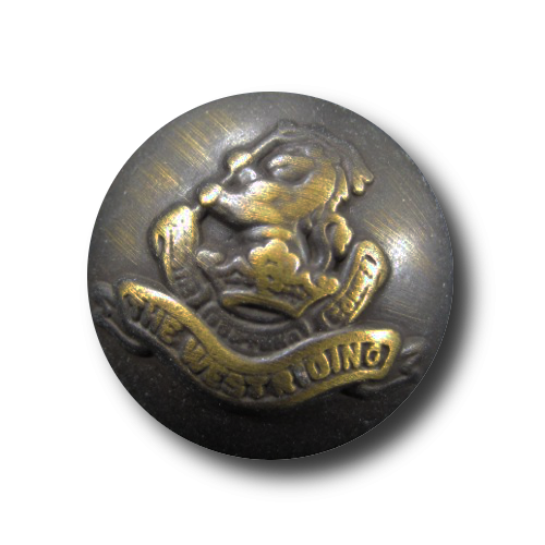 www.knopfparadies.de - d888dm - Metallknöpfe mit Löwen und Wappen