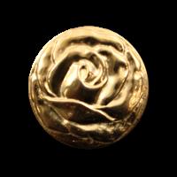 Knopf in Form einer Rosenblüte